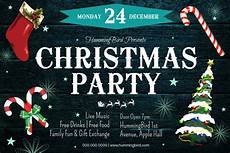 Work Christmas Party Flyer Free Printable Christmas Party Flyers Postermywall