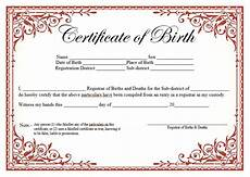 Sample Birth Certificate Pdf 14 Free Birth Certificate Templates In Ms Word Amp Pdf
