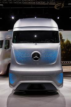 mercedes benz future truck ft 2025 editorial photography