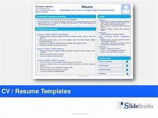 Powerpoint Designer Resume Resume Cv Templates In Editable Powerpoint