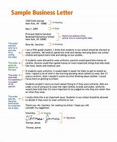 Basic Business Letters Free 7 Business Letter Templates In Pdf Ms Word