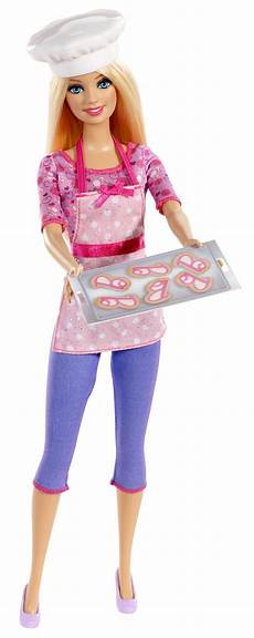 Barbie Jobs Barbie Careers Cookie Chef Fashion Doll Toys Amp Games