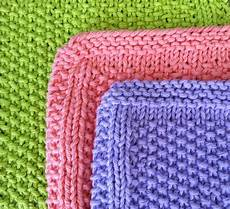 healthy and happy wallet seed stitch dishcloths