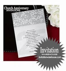 Church Invitations Invitation Warehouse Church Anniversary Formal Invites