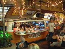 Outside Lighting For Mobile Food Truck Mobile Bar Thailand Idea Add Some Light Decoration