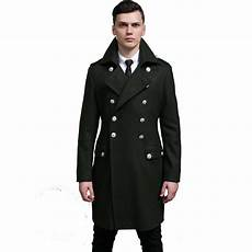 big mans breasted coats new brand s wool trench coat breasted retro