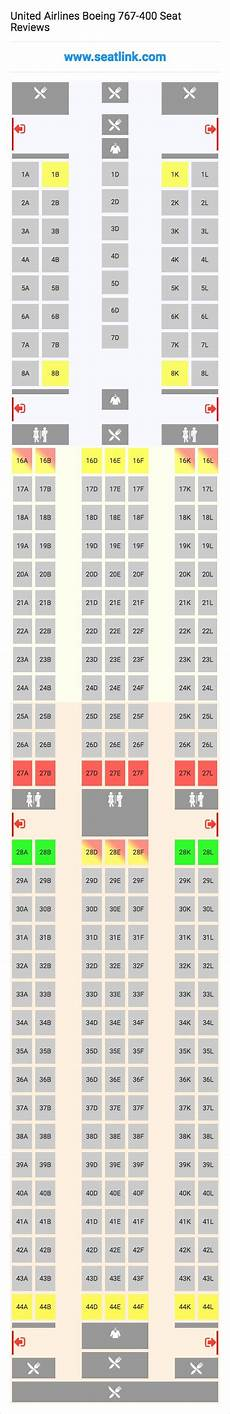 Boeing 767 400 Seating Chart United Airlines Boeing 767 400 Seating Chart Updated