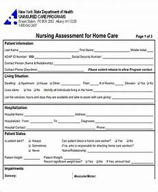 Nursing Assessment Forms Free 44 Assessment Forms In Pdf Ms Word Excel