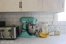 discount kitchen backsplash tile hometalk diy cheap subway tile backsplash