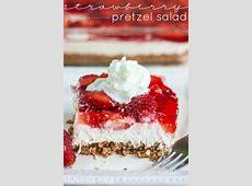 Strawberry Pretzel Salad   The Recipe Critic