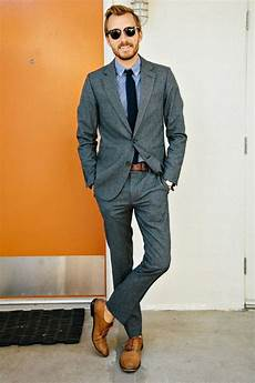 Light Grey Pants Brown Shoes Men S Outfits To Wear With Oxford Shoes 27 New Trends