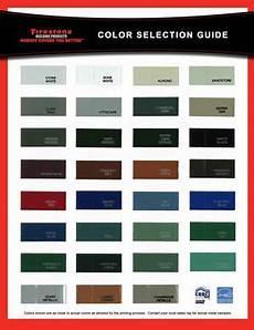 Firestone Sheet Metal Color Chart Una Clad Metal Color Selection Chart Remodeling Hacks