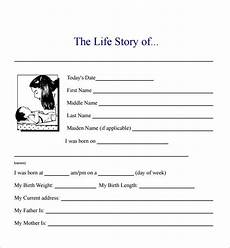 Short Bio Templates Free Free Bio Template Fill In Blank 4 Templates Example