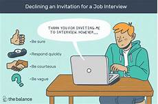 Should I Call After An Interview How To Decline A Job Interview With A Letter Sample