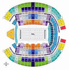 Wicked Seattle Seating Chart Seahawks Seating Chart With Rows Awesome Home