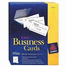 Avery Business Card Creator Avery Business Cards Ave05911 2500 Pack White