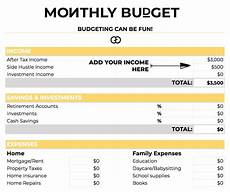 How To Budget My Money How To Budget Your Money In 4 Simple Steps Gathering