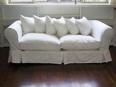 White Sofa Cover 3d Image by White Loveseat Slipcover Home Furniture Design