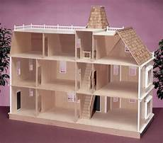 Design A Dolls House Bostonian Unfinished Dollhouse Kit Doll House Plans Diy