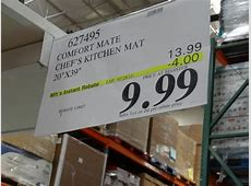 Apache Mills Comfort Mate Chef?s Kitchen Mat