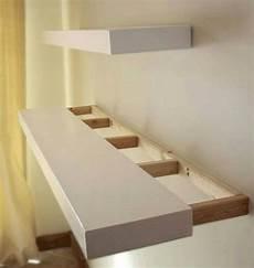 Light Grey Floating Shelves 27 Best Diy Floating Shelf Ideas And Designs For 2020