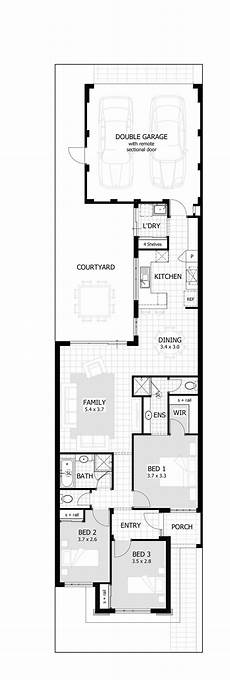 Narrow House Floor Plan 20 Narrow Lot House Plan You Are Definitely About To Envy