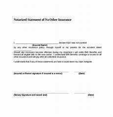 Notary Signatures Examples Free 9 Sample Notary Statements In Pdf Word