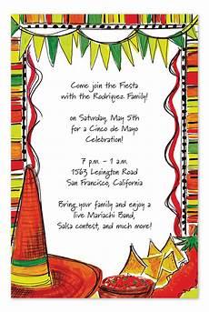 Fiesta Border Template Mexican Fiesta Party Invitations By Invitation