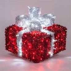 Red And White Large Christmas Lights Outdoor Decoration 16 Quot Red And White Led Dimensional