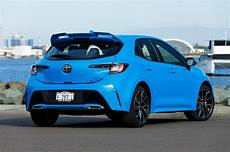 2019 toyota corolla hatchback 2019 toyota corolla hatchback starts at 20 910 motor trend