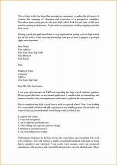 Cover Letter Templates For Students Cover Letter Template For High School Students With