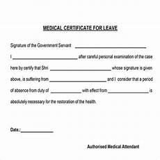 Medical Leave Certificate Format Pdf 43 Medical Certificate Templates Pdf Docs Word Free