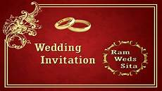Invitation Front Page Design How To Create A Wedding Invitation Card Front Page In