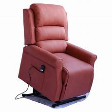 power lift riser recliner chair relax luxury leather home