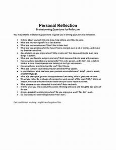 Personal Reflection Essay What Is A Personal Reflection What Is A Reflective Essay
