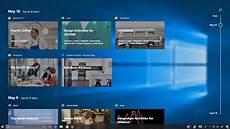 Microsoft Windows Timeline Windows 10 S Timeline Continuity Tool Arrives Soon For