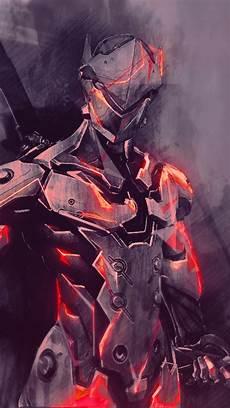 Iphone X Wallpaper Overwatch by 1080x1920 Overwatch Genji Painting Artwork
