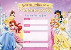 Disney Party Invitations Free Printable Disney Princess Birthday Invitations D Is