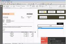 Invoice Generator Excel Excel Based Invoice Generation Software Youtube