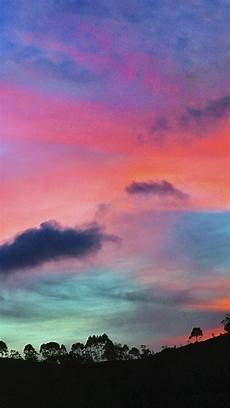 Iphone Wallpaper Cool Nature by Sky Rainbow Cloud Sunset Nature Iphone 6 Wallpaper