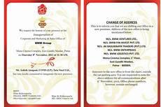 Inauguration Invitation Card Sample Office Inauguration Invitation Card Sample Paperinvite