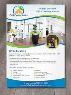Office Cleaning Flyer Modern Professional Office Cleaning Flyer Design For A