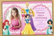 Disney Birthday Invitations Sale Disney Princess Birthday Invitation Disney Princess