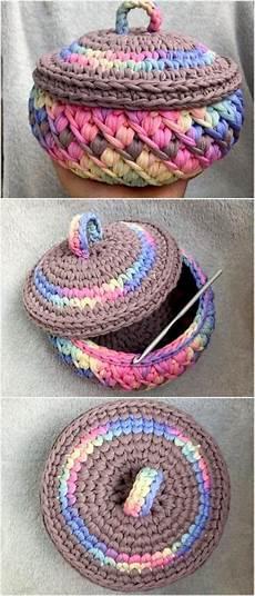 unique crochet basket idea unique crochet diy crochet