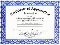 Text For Certificate Of Recognition Appreciation Certificate Templates Free Download Free