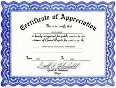 Diploma Samples Certificates Appreciation Certificate Templates Free Download Free