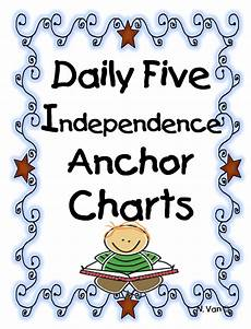 I Charts First Grade Wow Daily Five Independence Anchor Charts