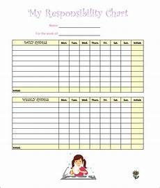Kids Chore Chart Template 7 Kids Chore Chart Templates Free Word Excel Pdf