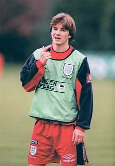 greats of the game david beckham 1997 a young david