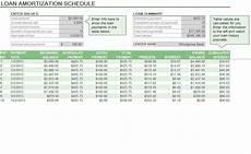 Simple Interest Amortization Schedule Excel Amortization Formula Excel Excel Amortization Formula